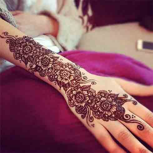 New and Latest Mehndi Designs 2018 for Girls