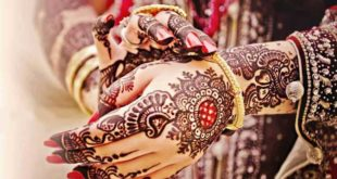 Mehndi designs for Chand Raat 2018