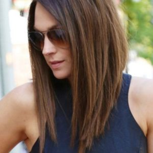 Long Bob Haircut for Straight Hair