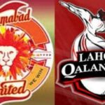 Lahore Qalandar Vs Islamabad United PSL Cricket Match Live 14 Feb 2019