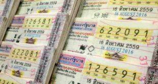 Thai lottery Result 16 October 2019