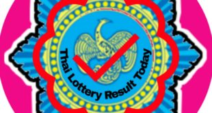 List of Thai Lottery Result 1st November 2019