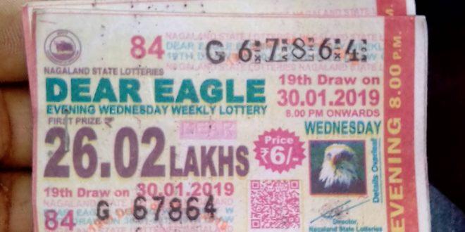 Nagaland Lottery Dear Eagle Results 06 November 2019 Today