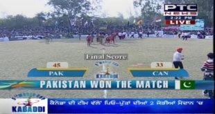 Pakistan Vs Canada Kabaddi Match