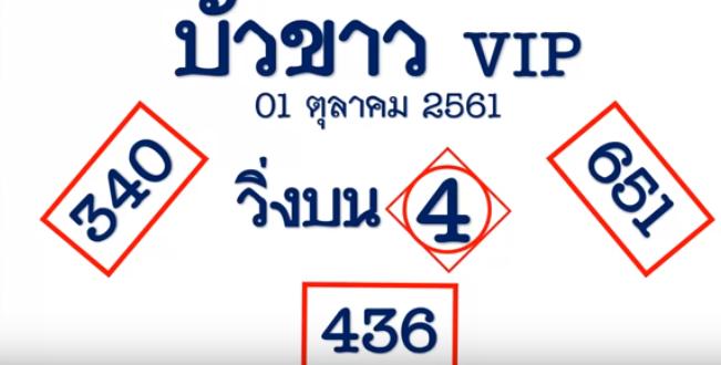 Thai Lottery Tips For 16 February 2020