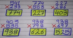 Thai lottery 3up direct set formula 16 April 2020