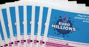 EuroMillions Lottery Result 2 September 2020 Today