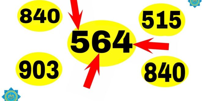 Thai Lottery Winning Number Guess Number for 1 January 2021